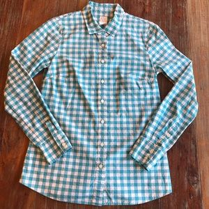 """J.Crew """"The Perfect Shirt"""" size 4"""